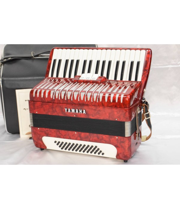 Yamaha Accordion 34 Keys 48 Bass New