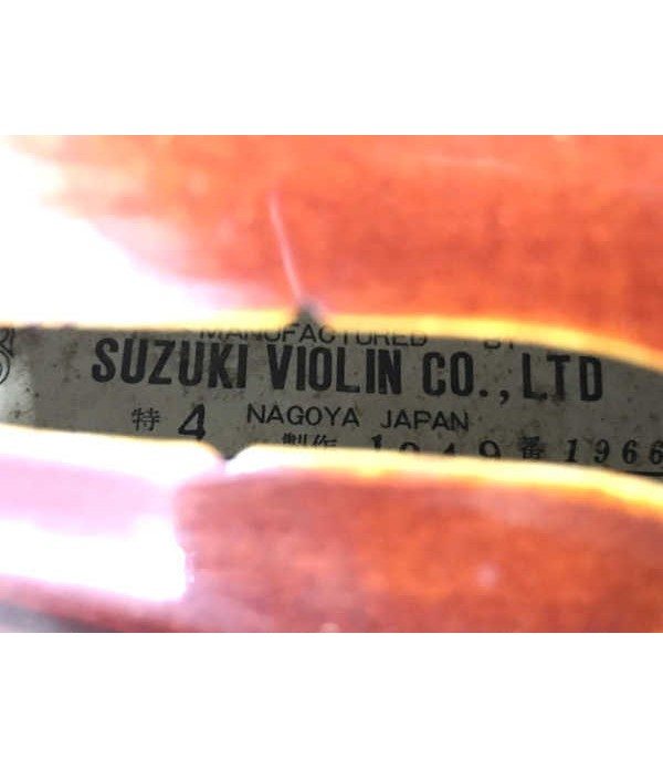 Suzuki violin Japan 1966 model (Used)